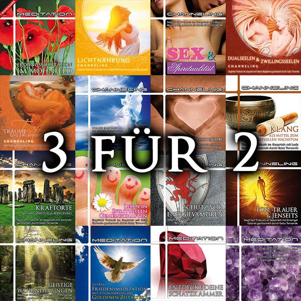 Osteraktion: 3 CDs für 2