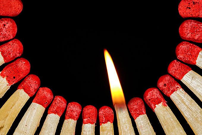 Ein Licht für andere werden